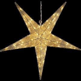 LED Āra gaismas dekors zvaigzne karināms 4,61W 75x75cm Sequini 803-31