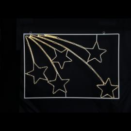 LED Āra gaismas dekors zvaigznes karināms 40W 110x75cm Tapesil 807-31