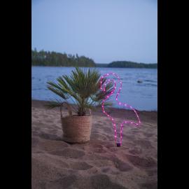 Gaismas dekors flamingo rozs 38 LED C 2,3W 32x63cm Tuby 857-23