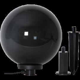 Āra gaismas dekors melns 1xE27 40x44cm Orby 803-89