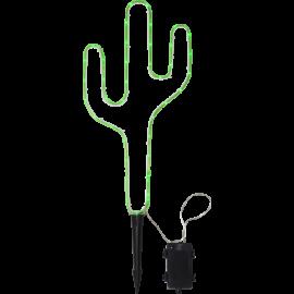 Gaismas dekors kaktuss zaļš 39 LED C 2,3W 28x54cm Tuby 857-24