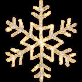 LED Āra gaismas dekors sniegpārsla karināms 3,6W 40x40cm Antarctica 583-96