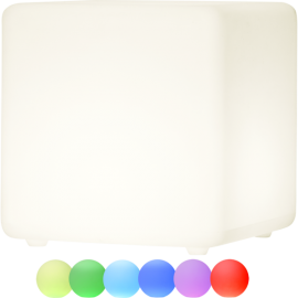 LED gaismas dekors uz baterijām RGB 2W 40x40cm Twilights 803-82