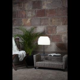 Galda lampa balta 1xE27 37x51,5cm Gardenlight rhodos 803-56