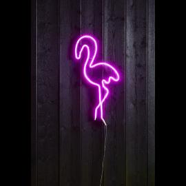 LED gaismas dekors flamingo karināms 5,8W 35x74cm Flatneon 807-38