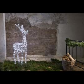 LED Ziemassvētku āra gaismas dekors briedis 6W 70x120cm Pegasus 803-67