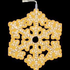 LED Ziemassvētku Sniegpārsla 75cm 800-46 800-46