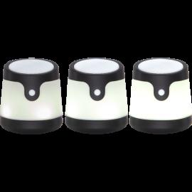 LED gaismas dekors skaļrunis uz baterijas RGB 0,06W 10x11cm Voice 362-83