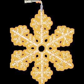 LED Ziemassvētku Sniegpārsla 100cm 800-50 800-50