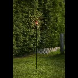 LED Āra gaismas dekors salūts balts 2,4W 36x110cm Firework outdoor 860-33