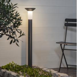 LED Āra gaismeklis uz saules baterijām pelēks 0,18W 16x90cm Valta 481-17