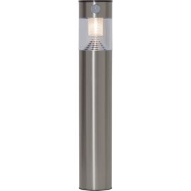 LED Āra gaismeklis uz saules baterijām pelēks 0,06W 9x50cm Marbella 481-89