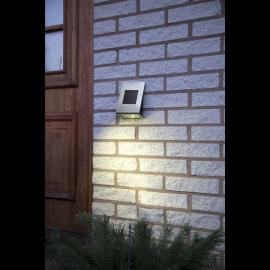 LED āra gaismeklis uz saules baterijām 0,06W 13x18,5cm Wally 480-51