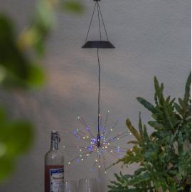 LED Āra gaismas dekors uz saules baterijām 0,08W 26x50cm Firework solar 481-87