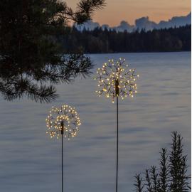 LED Āra gaismas dekors salūts uz saules baterijām 1W 15x85cm Firework solar 481-78