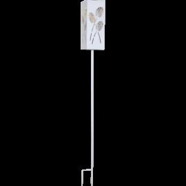 LED Āra gaismeklis uz saules baterijām balts 0,06W 9,5x90cm Albaleaf 482-22