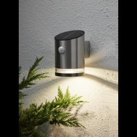 LED āra gaismeklis uz saules baterijām sudraba 0,5W 10x15cm Venice 479-98