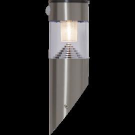 LED Āra gaismeklis uz saules baterijām pelēks 0,06W 9x29cm Marbella 481-88