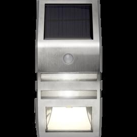 LED āra gaismeklis uz saules baterijām 0,04W 7,6x17cm Wally 479-96