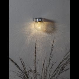 LED āra gaismeklis uz saules baterijām 0,25W 12x14,5cm Glory 481-61