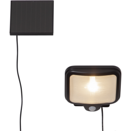 LED āra gaismeklis uz saules baterijām melns 0,5W 13x14cm Powerspot 481-63