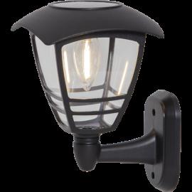 LED āra gaismeklis uz saules baterijām melns 0,03W 14x21cm Felix 480-88