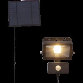 LED āra gaismeklis uz saules baterijām melns 0,4W 15x16cm Powerspot 481-65