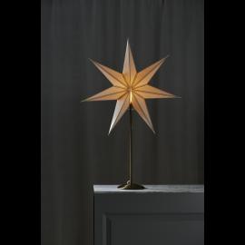 Papīra zvaigzne uz statīva balta E14 60x90cm Nicolas 234-82