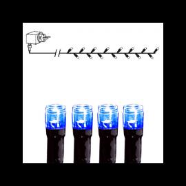 Ziemassvētku LED virtene Melna 400cm 40 LED Lampiņas 498-19