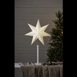 Papīra zvaigzne uz statīva balta E14 60x100cm Frozen 232-27