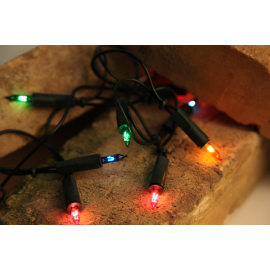 Ziemassvētku LED virtene Iekštelpu Zaļa 510cm 35 LED Lampiņas 422-80