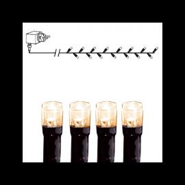 Ziemassvētku LED virtene Melna 400cm 40 LED Lampiņas 498-16