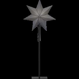 Papīra zvaigzne uz statīva melna E14 34x85cm Ozen 232-81