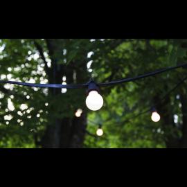 Ziemassvētku LED virtene Melna 920cm 10 LED Lampiņas 418-61