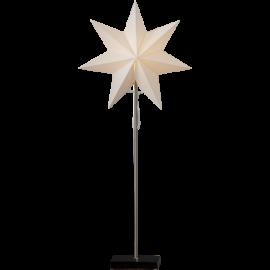 Papīra zvaigzne uz statīva balta E14 34x80cm Totto 233-21