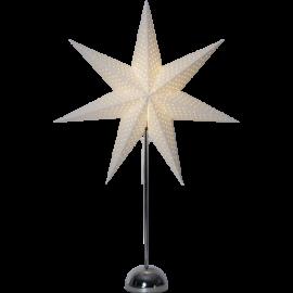 LED papīra zvaigzne uz statīva balta 3W 53x75cm Lottie 234-76