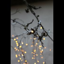 Ziemassvētku LED virtene Caurspīdīga 800cm 80 LED Lampiņas 499-26