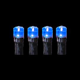 Ziemassvētku LED virtene Melna 200cm 90 LED Lampiņas 498-69