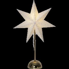 LED papīra zvaigzne uz statīva balta 2,76W 35x55cm Lottie 234-77